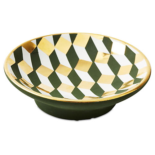 "OKL Exclusive 5"" Bullet Bowl, Geometric"