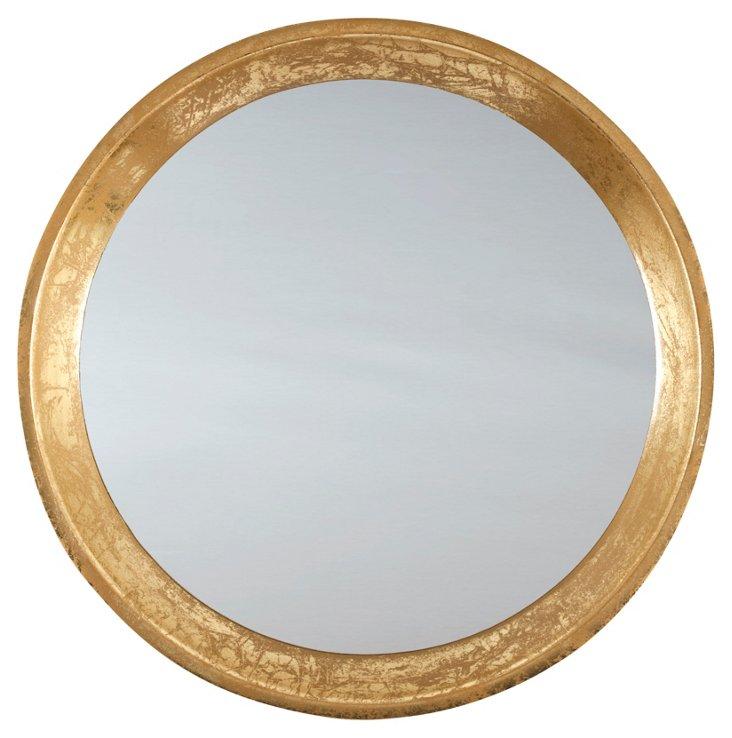 "Mila 20"" Accent Mirror, Gold"
