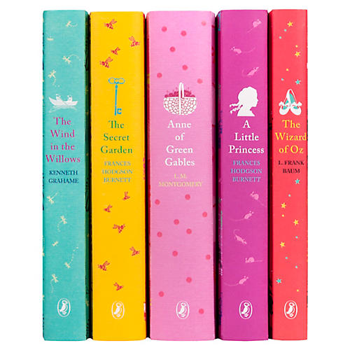 S/5 The Secret Garden & More Books