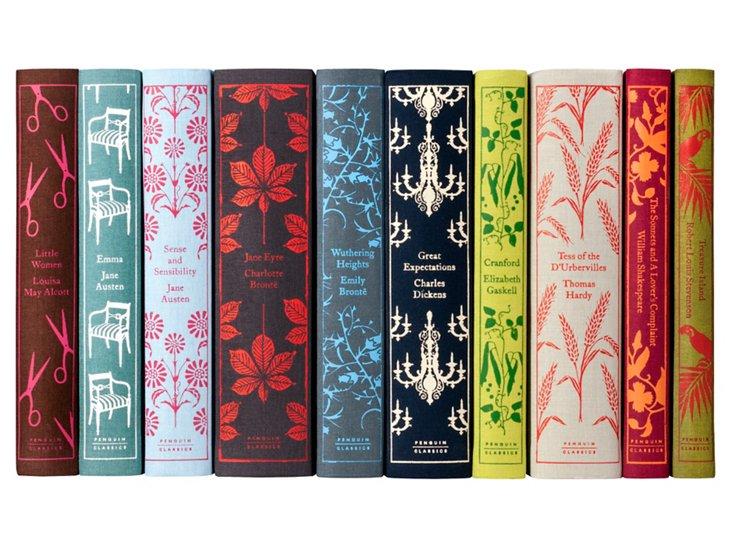 S/10 Penguin Classics Books