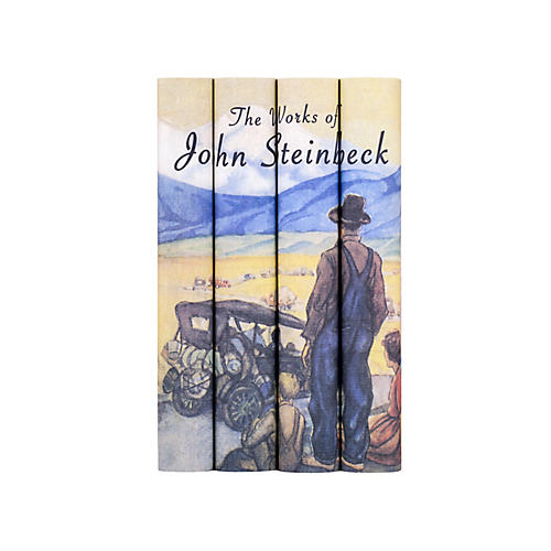 S/4 John Steinbeck Books