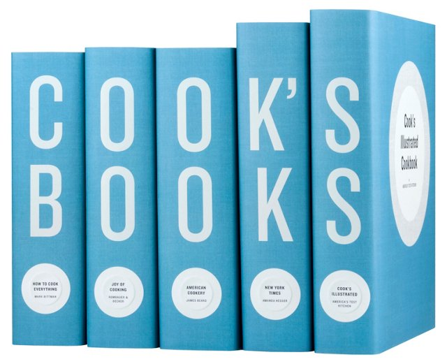 S/5 Cook's Books, Blue