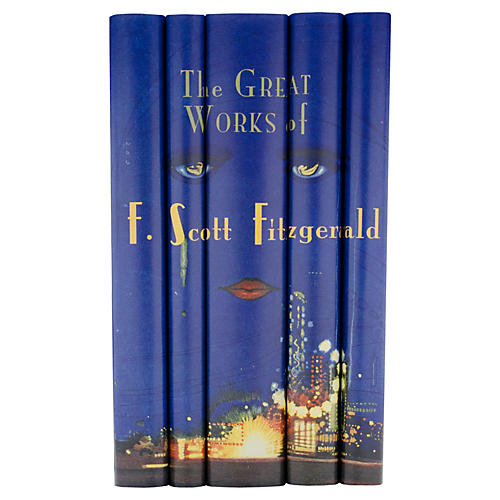 S/5 F. Scott Fitzgerald Books