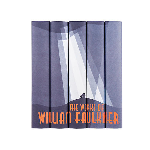 S/5 William Faulkner Book Set