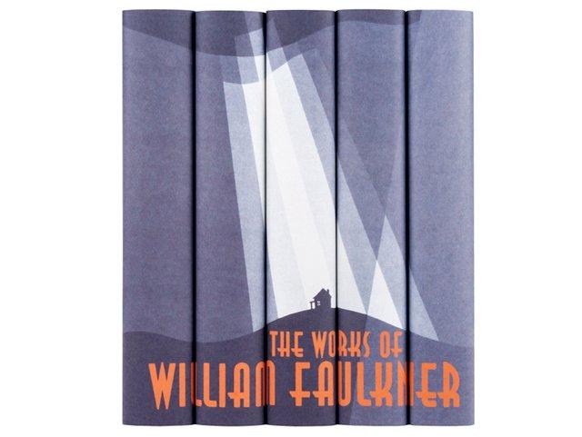S/5 William Faulkner Books