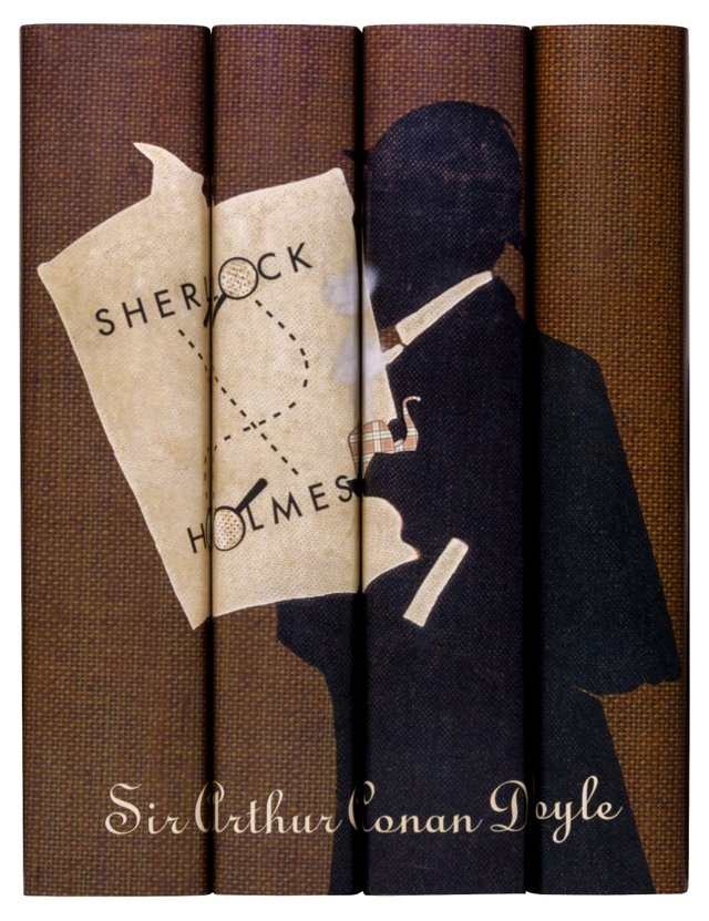 S/4 Sherlock Holmes Books