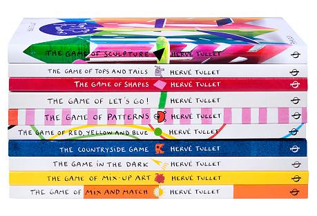 S/10 Hervé Tullet Children's Books