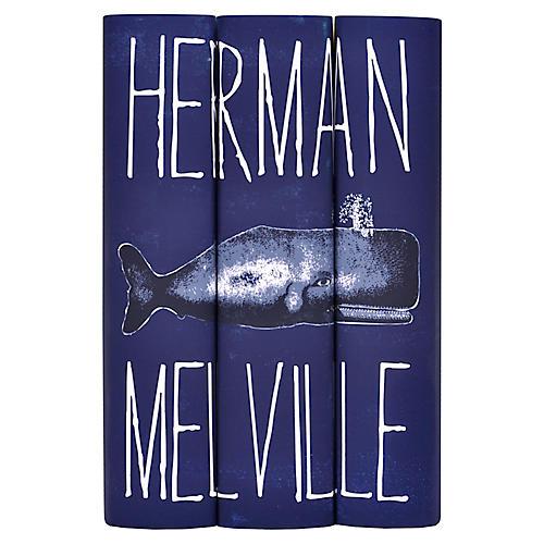 S/3 Herman Melville Book Set