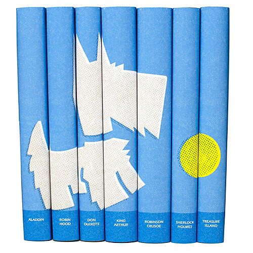 S/7 Classic Boys Set in Blue Dog Jackets Book Set