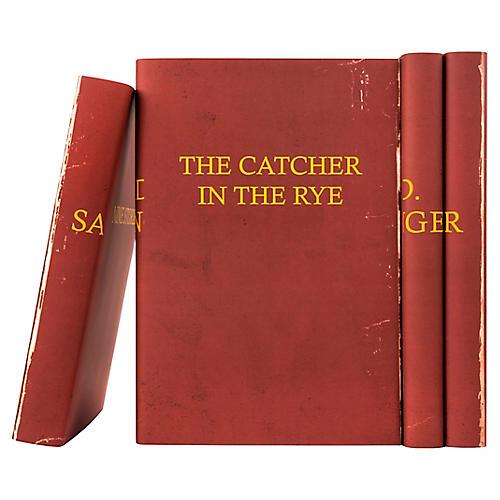S/4 J.D. Salinger Books