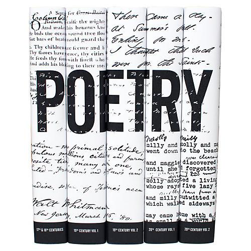 S/5 American Poetry Set