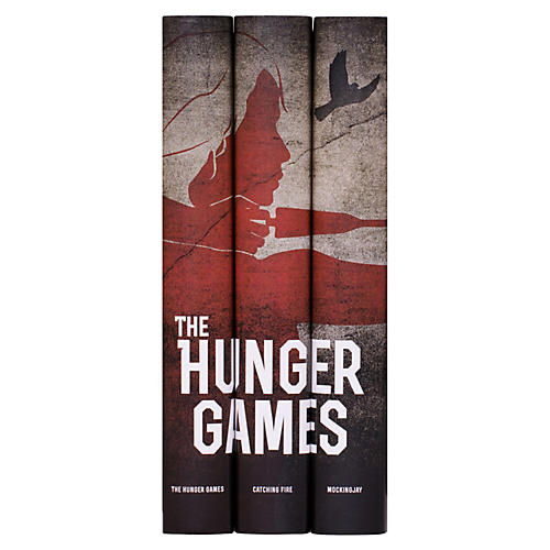 S/3 Hunger Games Trilogy Books