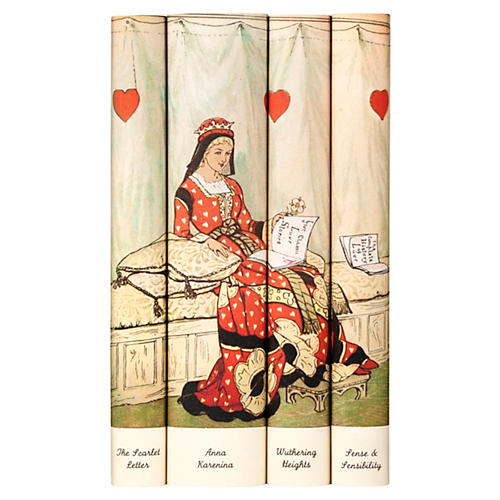 S/4 Classic Love Stories Book Set