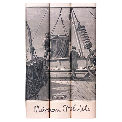 S/3 Melville Engraving Book Collection