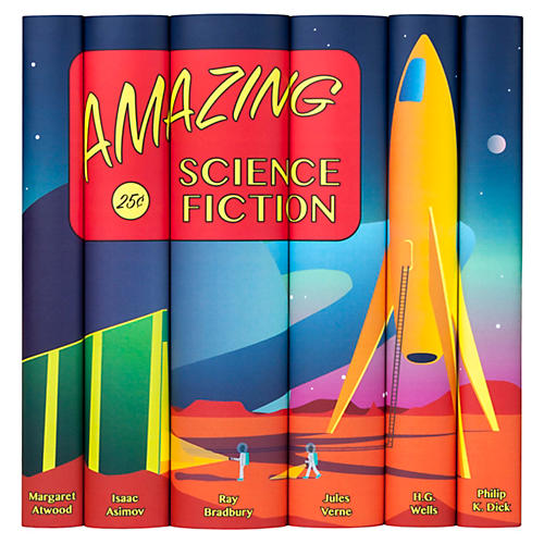 S/6 Science Fiction Books