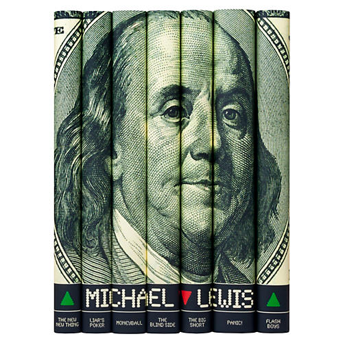 S/7 Michael Lewis Book Set