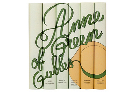 S/6 Anne of Green Gables Set