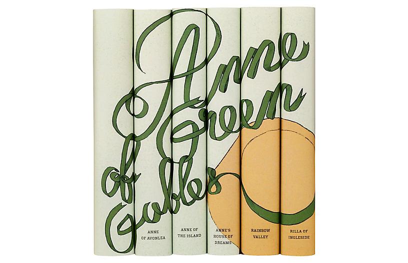 S/6 Anne of Green Gables Books