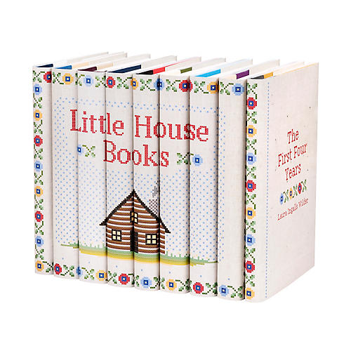 S/9 Little House on the Prairie Book Set