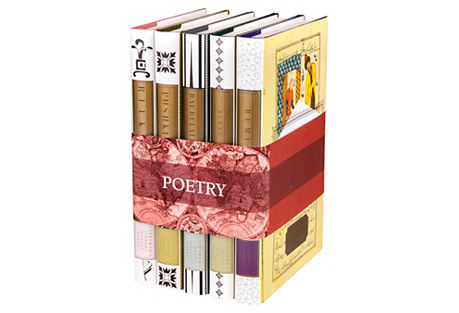 S/5 Global Poets Book Collection