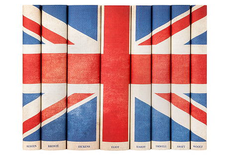 S/8 British Flag Book Collection