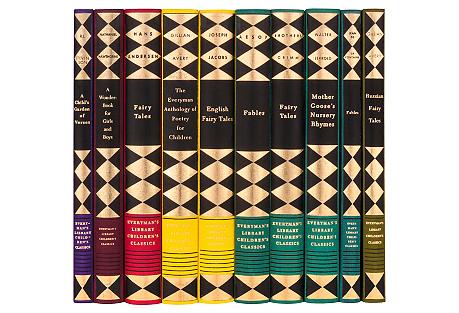 S/10 Classic Fables & Tales Book Set