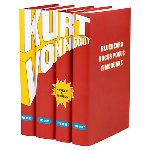 S/4 Kurt Vonnegut Book Collection
