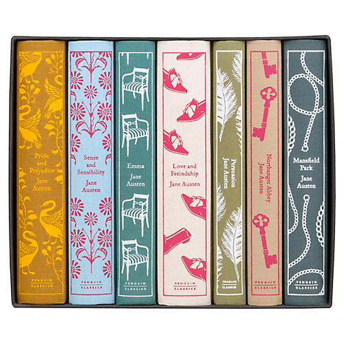 S/7 Jane Austen Book Set