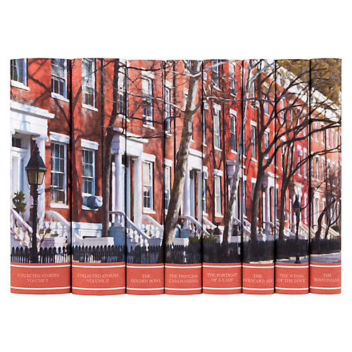 S/8 Henry James Book Set