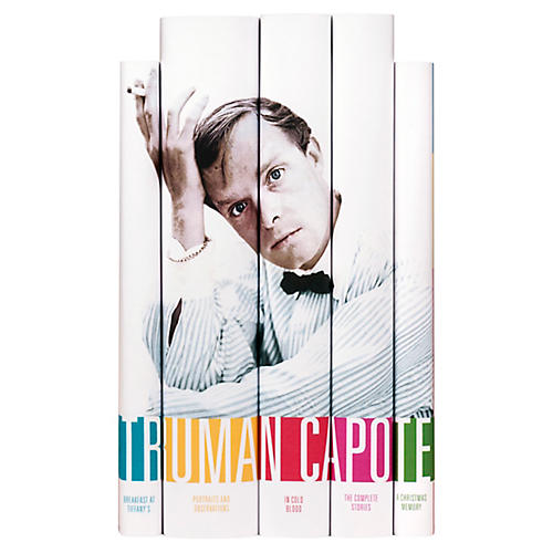 S/5 Truman Capote Book Set