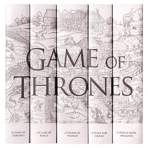S/5 Game Of Thrones Book Set