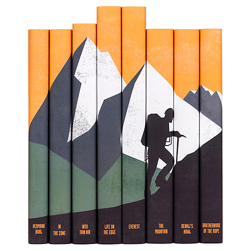 S/8 Mountaineering Book Set