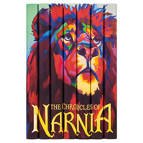 S/7 The Chronicles of Narnia Book Set