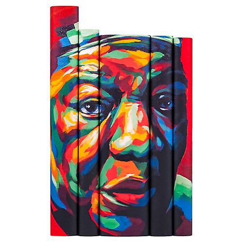 S/5 Maya Angelou Portrait Book Set