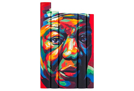 S/5 Maya Angelou Portrait Book Set