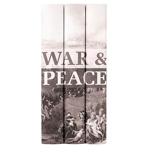 S/3 War & Peace Book Set