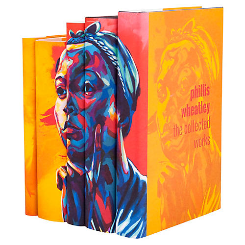 S/5 In Living Color Book Set