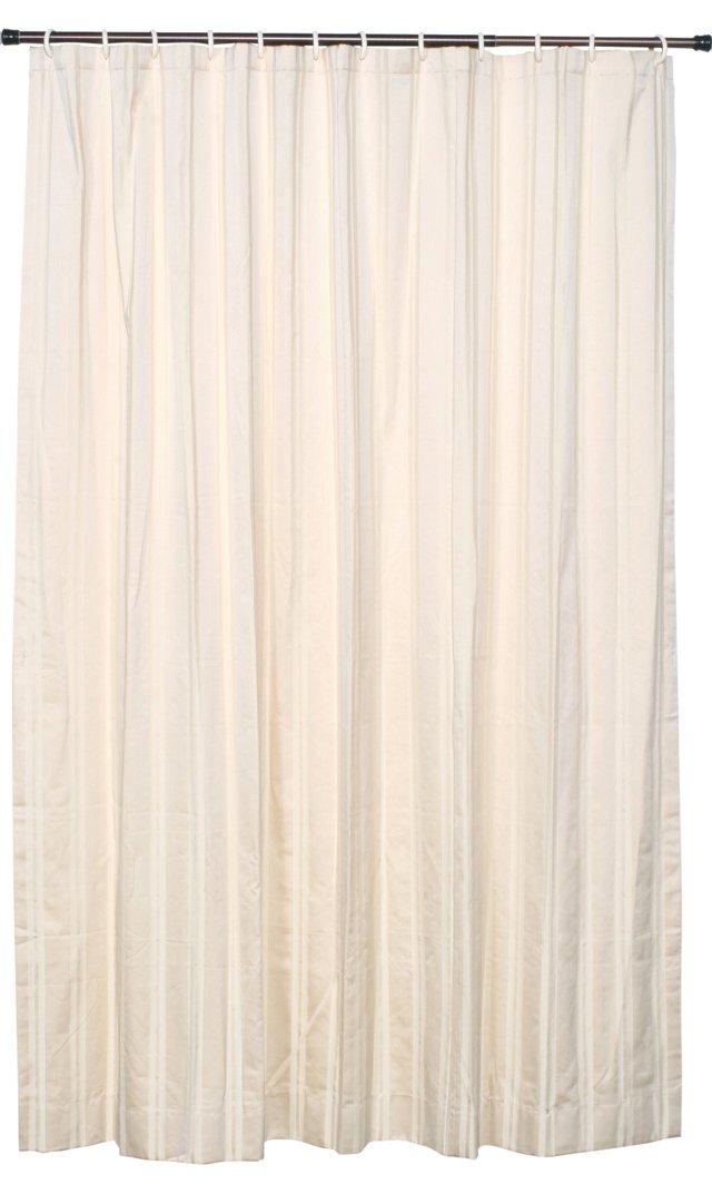 Bella Stripe Shower Curtain