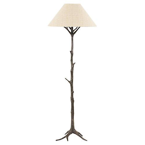 Sprig's Promise Floor Lamp, Dark Bronze