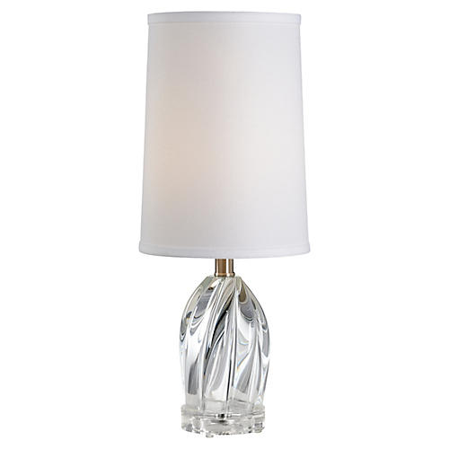Arctic Crystal Table Lamp, Clear