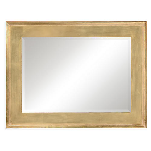 Garrard Wall Mirror, Antiqued Gold