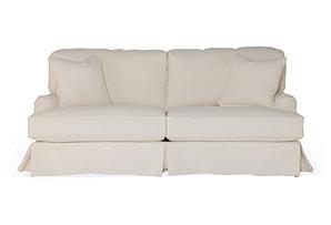 "Caroline 83"" Sofa, Natural Linen*"