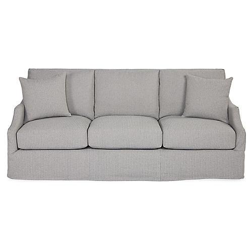 Reagan Sofa, Pewter