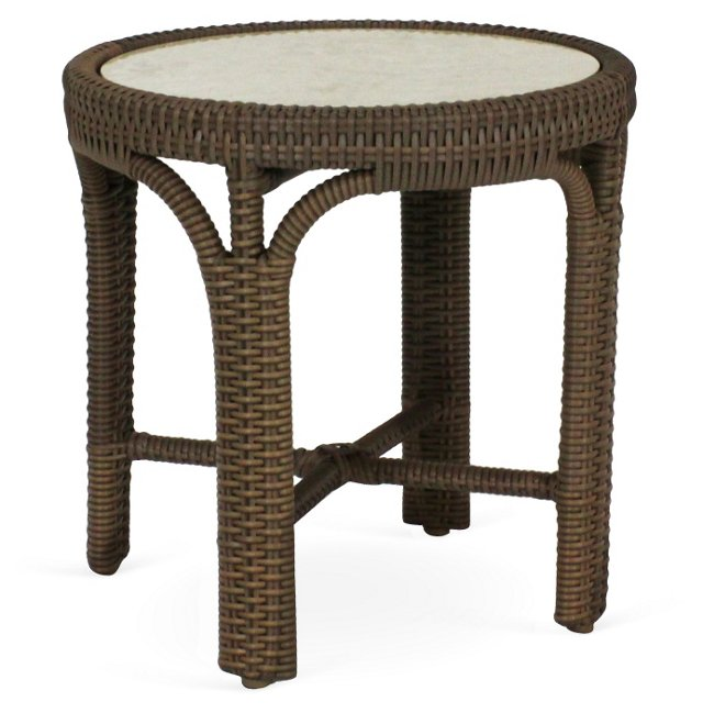 Stone End Table, Coffee