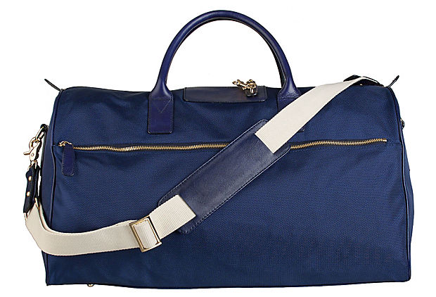 Lola Overnight Bag, Indigo