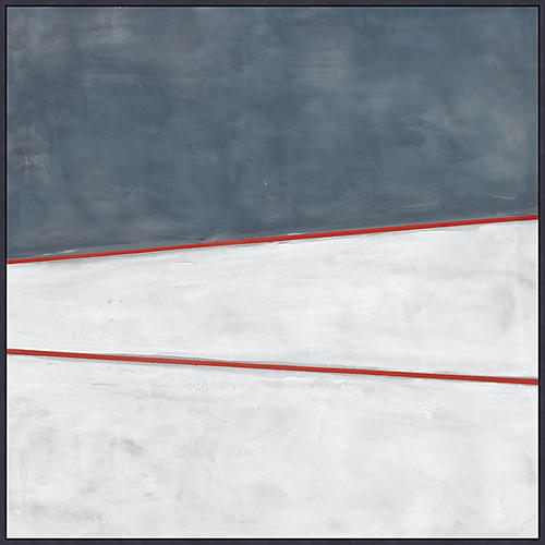 Blue White Red 1, Lillian August