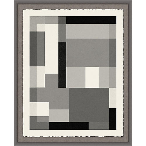 Lillian August, Gray Scale Pattern 1