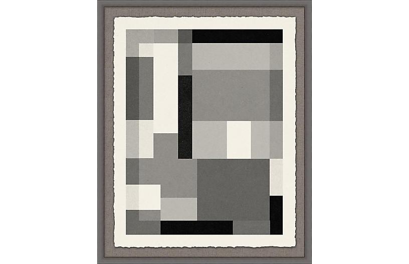 Lillian August, Gray Scale Pattern 1