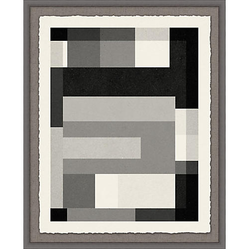 Lillian August, Gray Scale Pattern 2