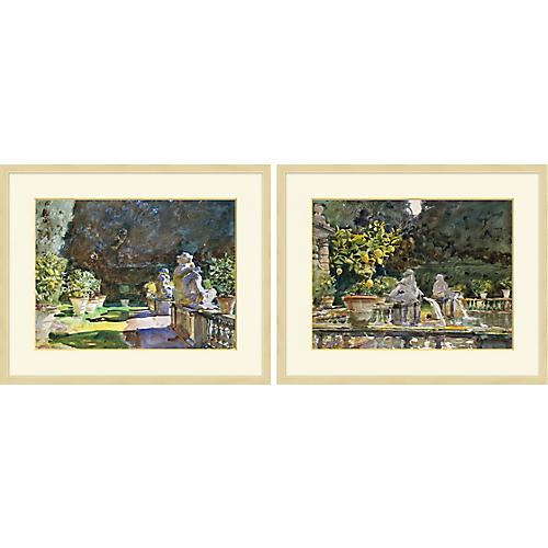 Lillian August, Garden Study 1-2